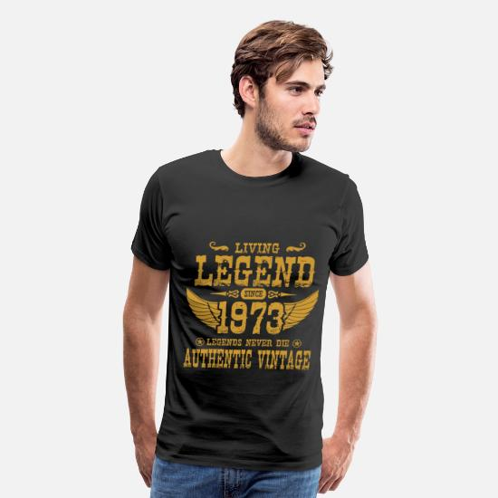 1973 T-Shirts - 1973 C.png - Men's Premium T-Shirt black