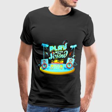 Play with the sound color  - Men's Premium T-Shirt