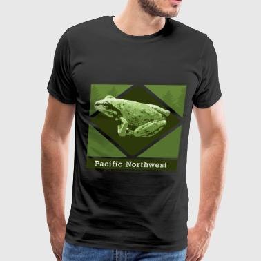 NW Green Tree Frog 2 - Men's Premium T-Shirt
