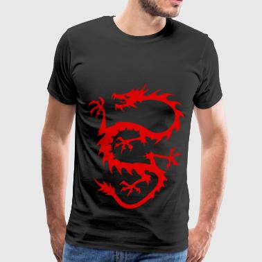 red dragon - Men's Premium T-Shirt