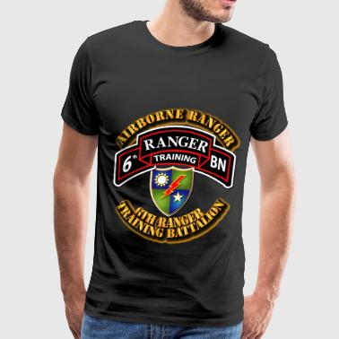 6th Ranger Training Battalion - Airborne Ranger - Men's Premium T-Shirt