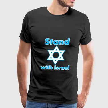 Magen David Stand with Israel - Magen David - Men's Premium T-Shirt