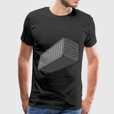 Shipping Container - Men's Premium T-Shirt