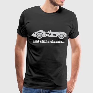 45th Birthday Vintage Car - Men's Premium T-Shirt