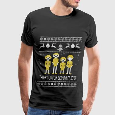 The Golden Girls Thanks for being a friend sweater - Men's Premium T-Shirt