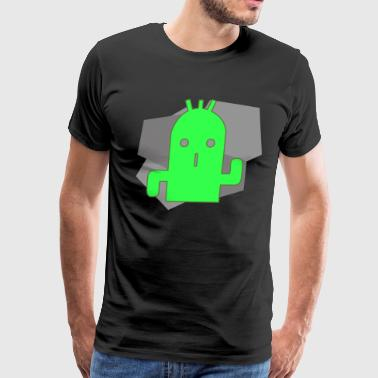 Cactuar Stone (Green) - Men's Premium T-Shirt