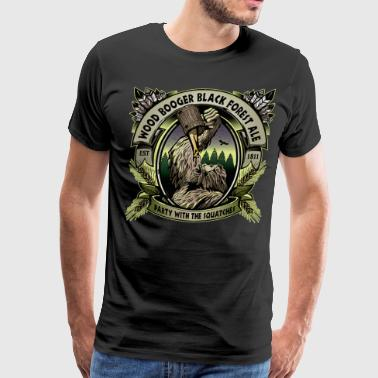 WoodboogerBlackForest - Men's Premium T-Shirt