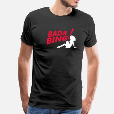 Sopranos The Sopranos Bada Bing - Men's Premium T-Shirt