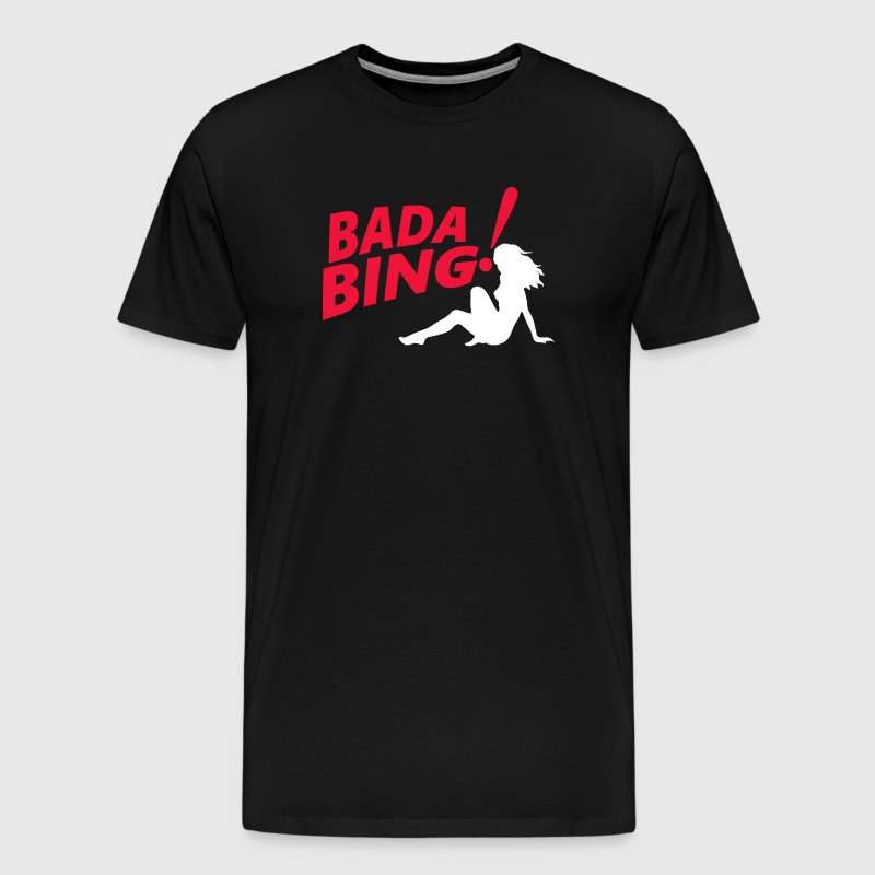The Sopranos Bada Bing - Men's Premium T-Shirt