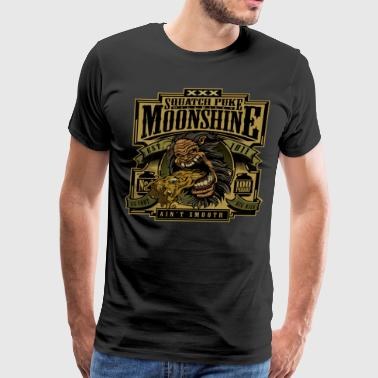 Squatchpuke Moonshine - Men's Premium T-Shirt