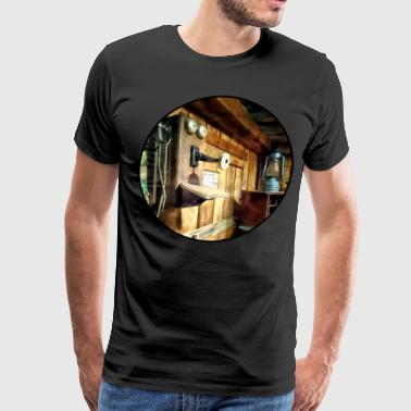 Old Fashioned Telephone i - Men's Premium T-Shirt