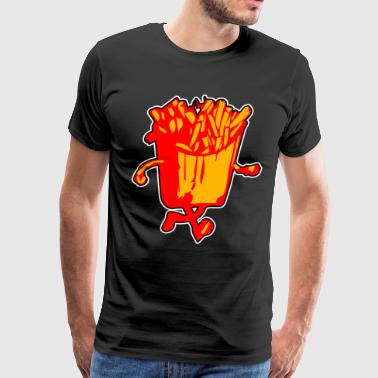 Fries Kids I Run On French Fries - Men's Premium T-Shirt
