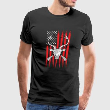 T-Shirt for Deer and Predator Hunters - Men's Premium T-Shirt