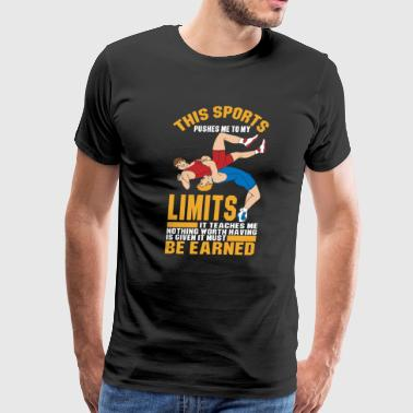 This Sports pushes me to my Limits - Men's Premium T-Shirt