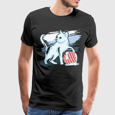 Ice Cat - Men's Premium T-Shirt