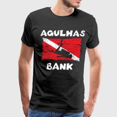 Funny Banker Agulhas Bank Diving Flag funny women - Men's Premium T-Shirt