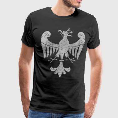 Vintage Polish White Eagle - Men's Premium T-Shirt