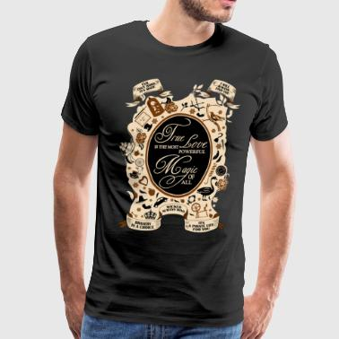 OUAT quotes. Once Upon A Time. - Men's Premium T-Shirt