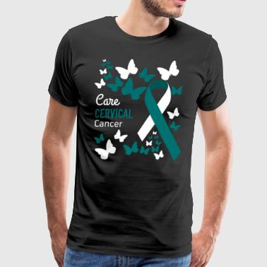 Cervical Cancer Awareness - Men's Premium T-Shirt