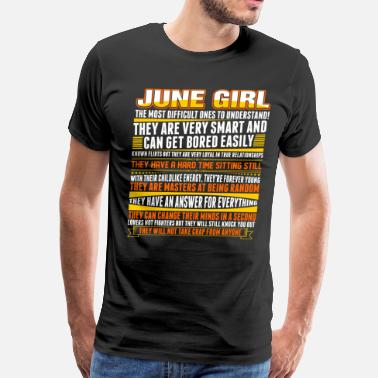 June Girl June Girl - Men's Premium T-Shirt