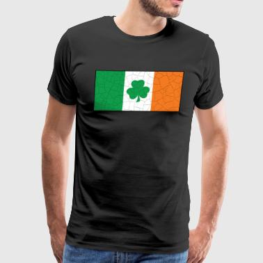Irish Flag Shamrock Pride - Men's Premium T-Shirt