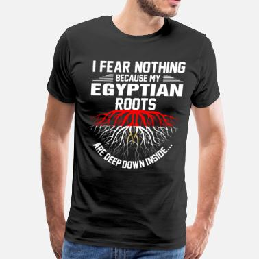 Rooted Egyptian Roots Are Deep Down Inside - Men's Premium T-Shirt