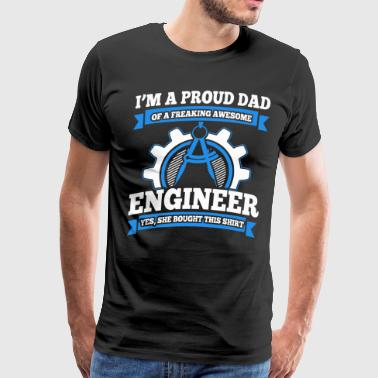 I'm Dad & engineer, Trust me, I'm an engineer - Men's Premium T-Shirt