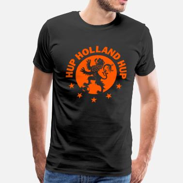 Holland Hup Holland Dutch Soccer - Men's Premium T-Shirt