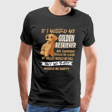 Golden Retriever T Shirts - Men's Premium T-Shirt