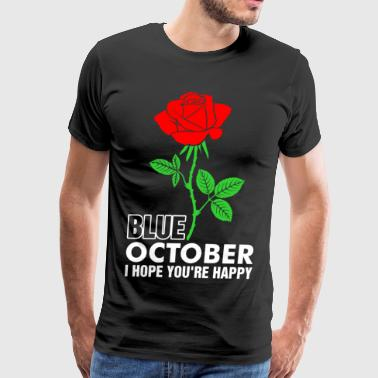Blue October Band Blue October I Hope Youre Happy Christmas Tshirt - Men's Premium T-Shirt