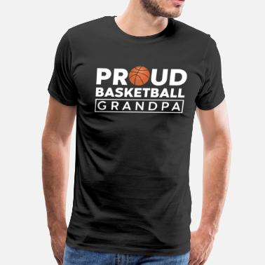Vintage Basketball Basketball - Men's Premium T-Shirt