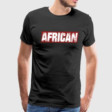 African Tribes Of Africa Pattern T-Shirt Gift - Men's Premium T-Shirt