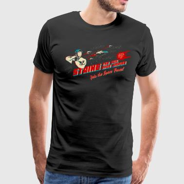 Join the Space Force (darkshirt) - Men's Premium T-Shirt