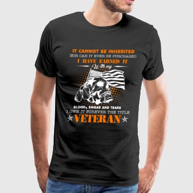 Veteran Forever The Title Shirt - Men's Premium T-Shirt