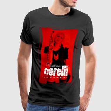 Catherine Corelli Red Sax - Men's Premium T-Shirt