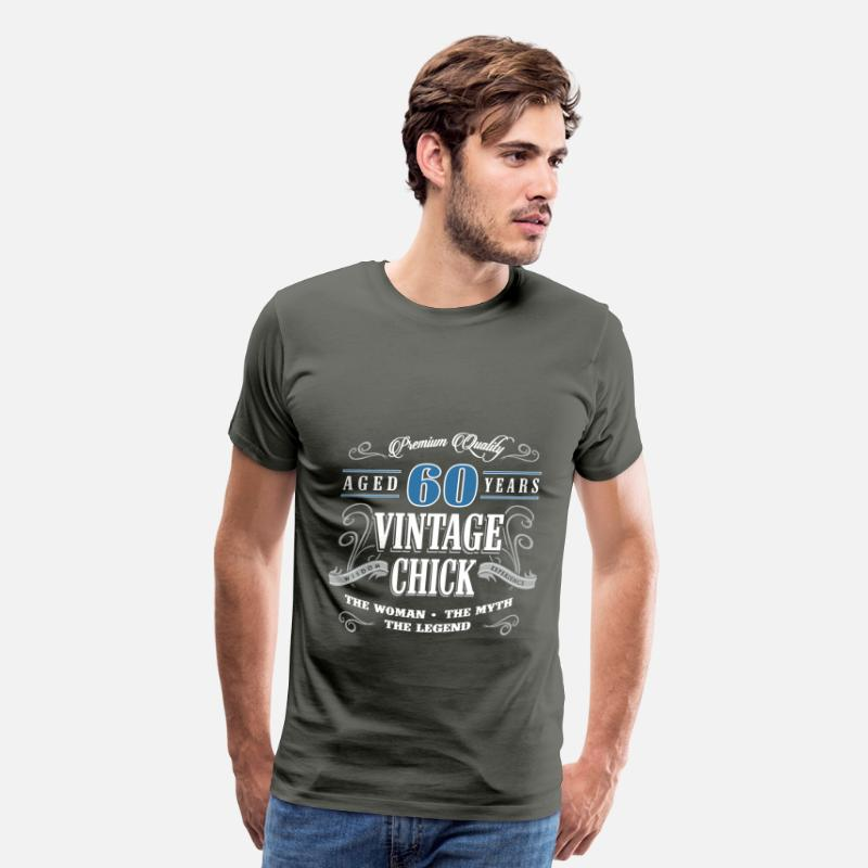 Birthday Gift 60 Years Old Vintage Mens Premium T Shirt