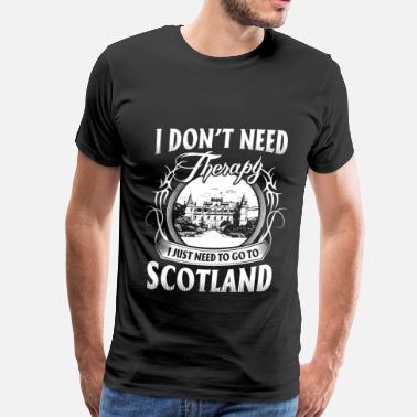 Schland Scotland - so beautiful - Men's Premium T-Shirt