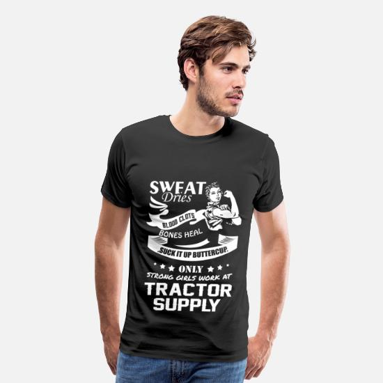 Tractor T-Shirts - Work at Tractor Supply - Men's Premium T-Shirt black