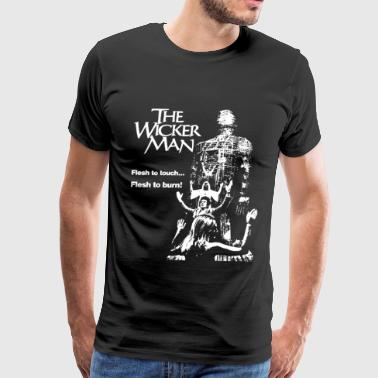 The wicker man - Flesh to touch Flesh to burn te - Men's Premium T-Shirt