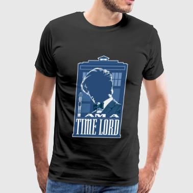 The Doctor - I am a time lord awesome t-shirt - Men's Premium T-Shirt