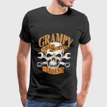 Grampy - The man the myth the legend - Men's Premium T-Shirt