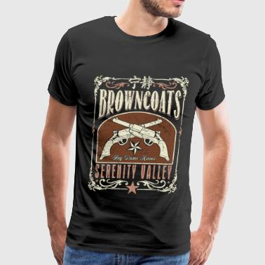 Browncoats - Serenity valley awesome t-shirt - Men's Premium T-Shirt