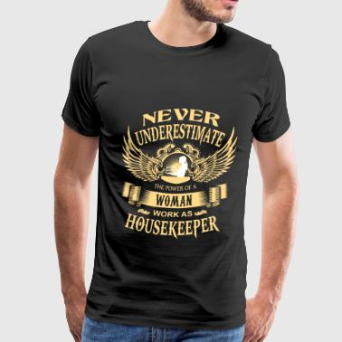 House keeper - Power of a woman house keeper - Men's Premium T-Shirt