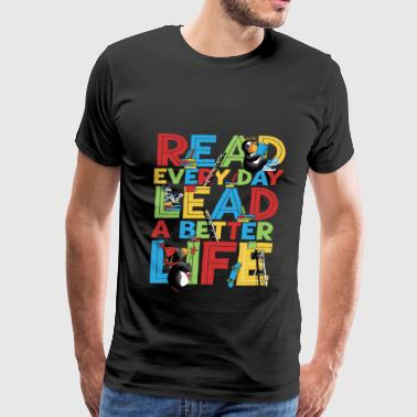 Children book day - Children book day - read eve - Men's Premium T-Shirt
