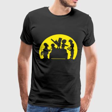 The simpson - Awesome the simpson t-shirt for fa - Men's Premium T-Shirt