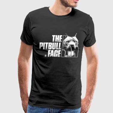 The Pitbull face - The North Face - Men's Premium T-Shirt