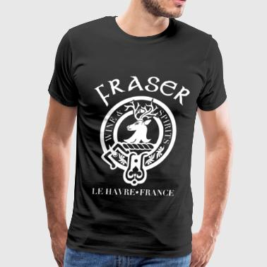 France Fraser - Wine and spirit - Men's Premium T-Shirt