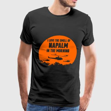 Napalm Napalm - Napalm - i love the smell of napalm tin - Men's Premium T-Shirt