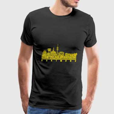 Gelsenkirchen Dortmund - Great footballer texas t-shirt - Men's Premium T-Shirt