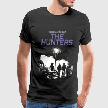 The hunters - The winchester brothers in movies - Men's Premium T-Shirt